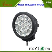 Best 7 inch IP67 high lumens 90w led driving light Spot light lamp for offroad jeep,4x4 tractor wholesale