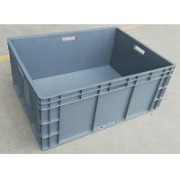 Best Big Volume Stackable Virgin Plastic Containers  800*600*340 mm Loading Capacity 45kg wholesale