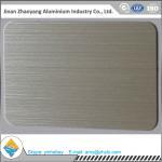 Best 6063 T6 temper size 30mmX1220mmX2440mm aluminum brush sheet wholesale