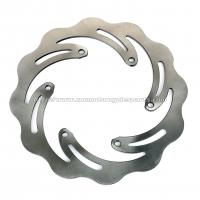 Solid Motorcycle Brake Disc Stainless Steel Made For Racing Bike Parts