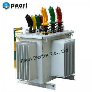Best 500kVA Power Distribution Transformer / Oil Type Transformer Impact Resistance wholesale