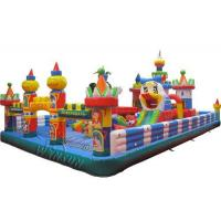 China Facetory price Amusement Park Inflatable Fun City For Sale on sale