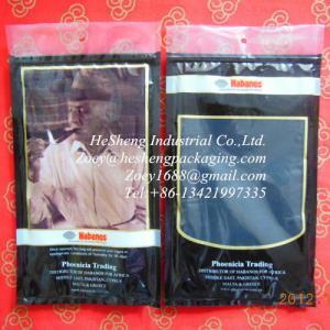 Best custom printed laminated tobacco bags wholesale