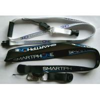 Cheap Mobile phone strap silk screen printing lanyard for sale