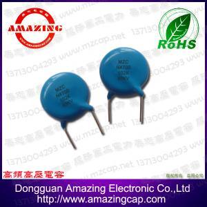 China CT81 40KVDC 1000pF High voltage disc ceramic capacitor on sale