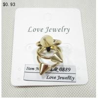 China Fashion gold Jewelry Rings on sale