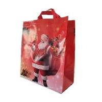 Best Hot sale Printing Gift Promotion Non Woven Shopping Christmas Bag wholesale