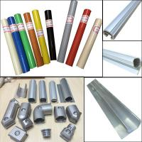 Best Lean pipe assemble pipe rack PE coated pipe and auminum pipe and joint System wholesale