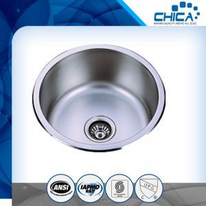 Best Basin/Single bowl sink/Round sink/stainless steel kitchen sink wholesale