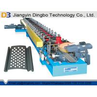 China Roller Shutter Slat Rolling Shutter Door Roll Forming Machine With Holes Machine on sale