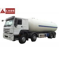 Best Euro II Propane Tank Trailer , Anhydrous Ammonia Transport Trailers Low Emission wholesale