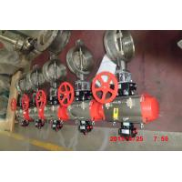 China Stainless Steel Butterfly Valve for Industrial Chemical / Power / Light Textile on sale