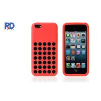 Best iPhone 5C TPU Hole Mobile Phone Protective Cases , Cell Phone Accessories wholesale