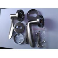 Cheap High Performance Casting Stainless Steel Door Handles With SGS CNAS Certificate for sale