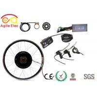 Buy cheap All In One Brushless Geared Hub Motor Kit Electric Bike Parts With Double Wall Alloy Rims product