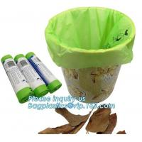 Best Fruit Packing Bio Compostable Bags , Pet Dog Biodegradable Waste Bags wholesale