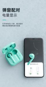 Best Waterproof In Ear I7s Sports Bluetooth Earphones 350mAh Case wholesale