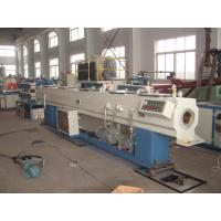 Best 20-63mm Plastic PVC Pipe Extrusion Line Machinery With Self Extinguishing wholesale