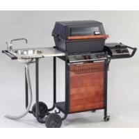 China Aluminum Gas Grill with Side Burner & Sink on sale