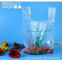Cheap Grocery Biodegradable Compost Bags Fully PLA Food Grade In Roll for sale