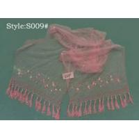 China Embroidery And Beading Scarf (Shawl) S009# on sale