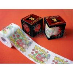 China Novelty toilet tissue on sale