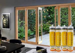 Best Transparent 300ml Weatherproof Silicone Sealant Quick Dry 200L Barrel wholesale