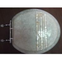China Mosaic polyresin toilet seat cover on sale