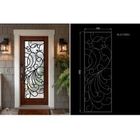 Best Modern Technology 2264 Inch Wrought Iron Glass Instant Iconic Stain Grade Jamb wholesale