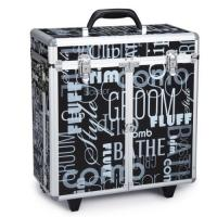 Best Aluminum Printing Hairdresser Tool Case , Professional Rolling Hairdressing Storage Case wholesale