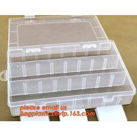 China Plastic Storage Box for Screws Accessory, Multifunctional Transparent Storage Kit Plastic Container Box with 8 Compartme on sale
