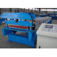 Galvanized Corrugated Roofing Sheet Roll Forming Machine Production Line
