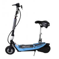 Best Fashion Small Foldable Adult Electric Scooter With Seat , 24V Li-Ion Battery wholesale