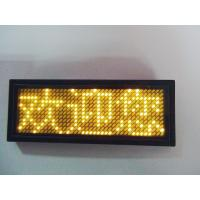Best LANPAI  Factory price Programmable LED scrolling message Badge wholesale