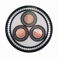 China 26/35kV XLPE insulated SWA armored cable, laid in indoor, tunnels and mines on sale
