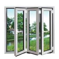Buy cheap Horizontal Crank Out Windows With Folding Cranks For Casement Double bi-folding from wholesalers