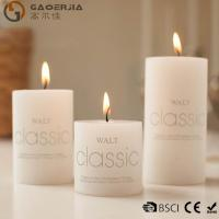 China Wax Flameless Electronic White Burning Candle / LED Candle Light on sale