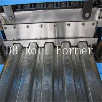 18.5kw Metal Decking Sheets Roll Forming Machine Used on High Buildings