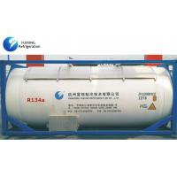 Best R134a Refrigerant Gas In Bulk ISO Tank For Cooling / Auto AC Refrigerant wholesale