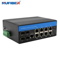 Best CE 8 Port Poe Switch With 2 Sfp , Managed 8 Port Gigabit Ethernet Switch wholesale