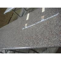 China Brown Solid Granite Worktops High Strength Natural Granite Raw Material on sale