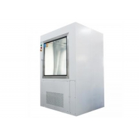 Best Pre-Fliter And Hepa Filter Cleanroom Stainless Steel Pass Box With Air Shower Nuzzles wholesale