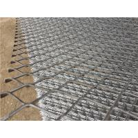 China 5052 Expanded Aluminium Mesh , Expanded Metal Fence For Tank Truck Walkway on sale