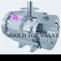 Best API 6D Split Body Side Entry Ball Valve Trunnion Mounted Double Block and Bleed RF RTJ  SS CS ASME B16.34 wholesale