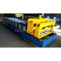 Best 3kw Roof Roll Forming Equipment/ Tiles Making Machine With 9 Rows Rollers wholesale