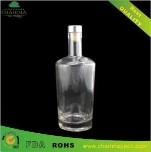Best Tpered Glass Bottle for Vodka wholesale