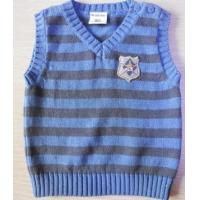 China Boy′s Stripe Sweater Vest on sale