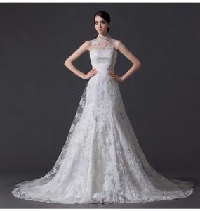 Best Unique Wedding Dresses with Lace back wholesale