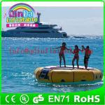 Best Amusement inflatable water play equipment floating trampoline orbit water trampoline wholesale