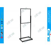 Best Lightweight Double Sided Floor Stand Sign Holder with Aluminum Open Base wholesale